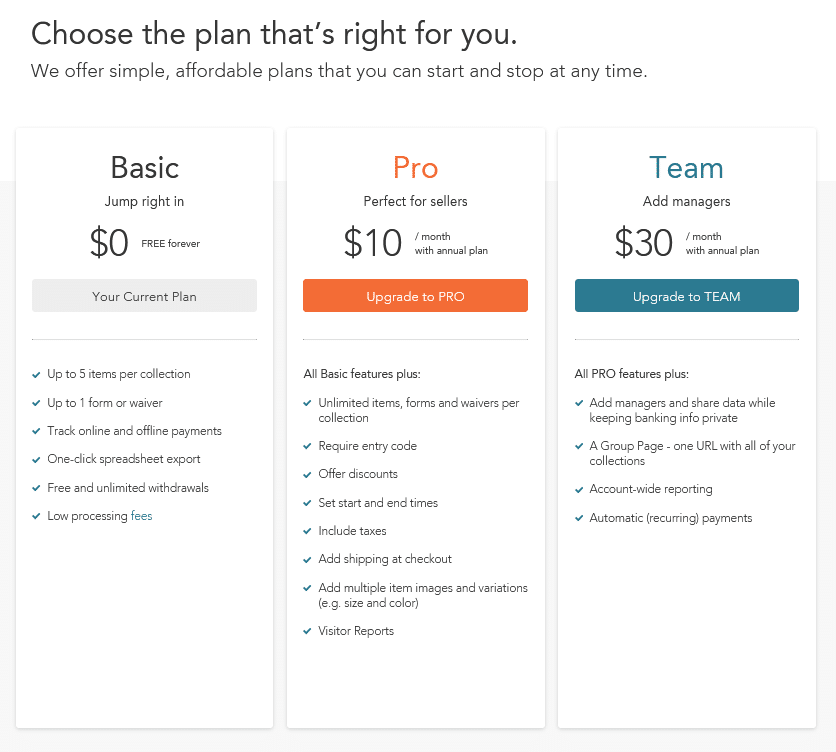 image of Cheddar Up Pricing Plans