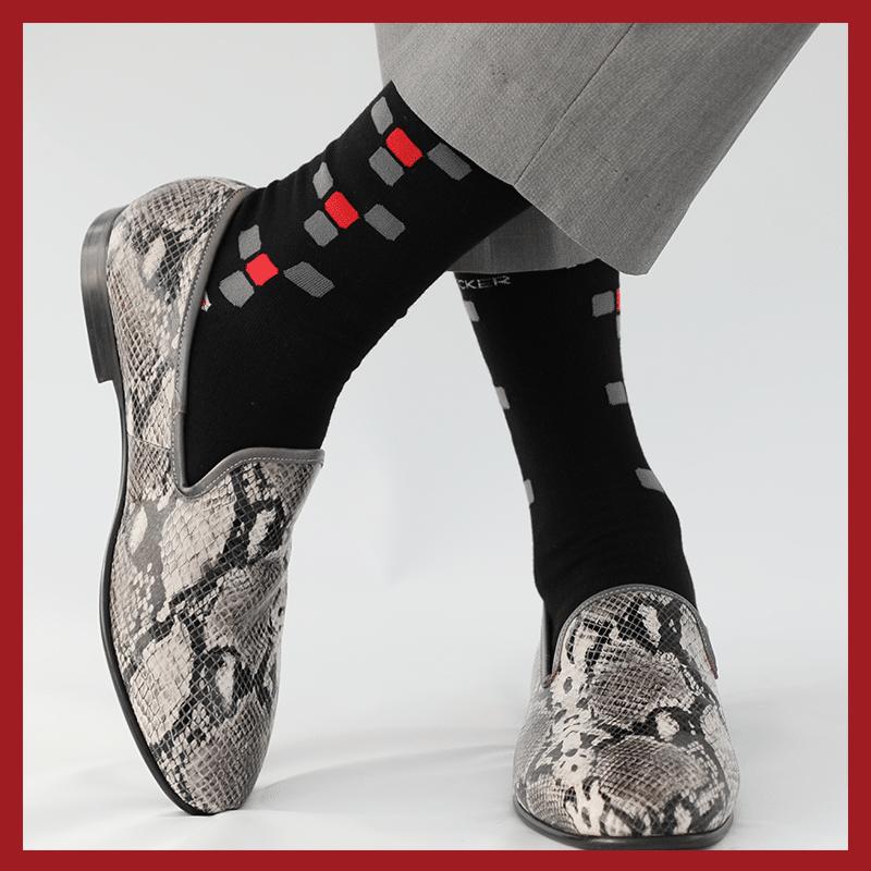 branded dress socks