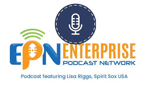 enterprise podcast network featuring Lisa Riggs, Spirit Sox USA