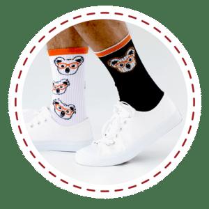 koala socks by spirit sox
