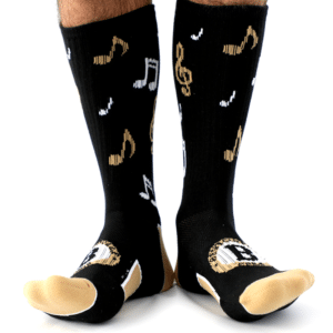 socks created for a fundraiser for Spirit Sox
