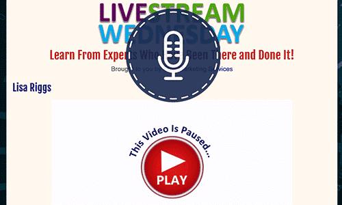 Livestream Wednesdays
