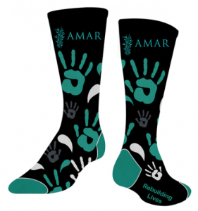 AMAR Foundation socks