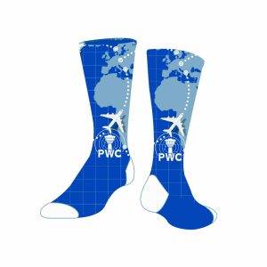 pwc dress sock